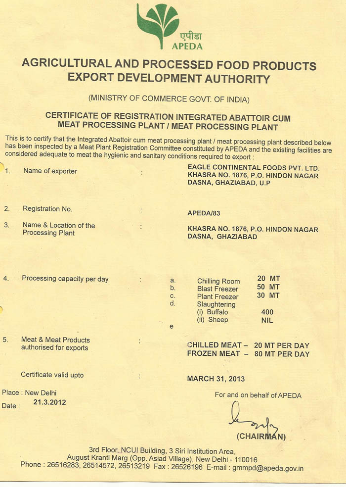 Quality Certification-Buffalo meat exporter in Angola,Buffalo meat ...